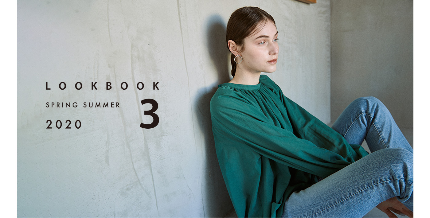 2020 SPING 1st COLLECTION [ LOOK BOOK SPRING SUMMER 2020 3 ]