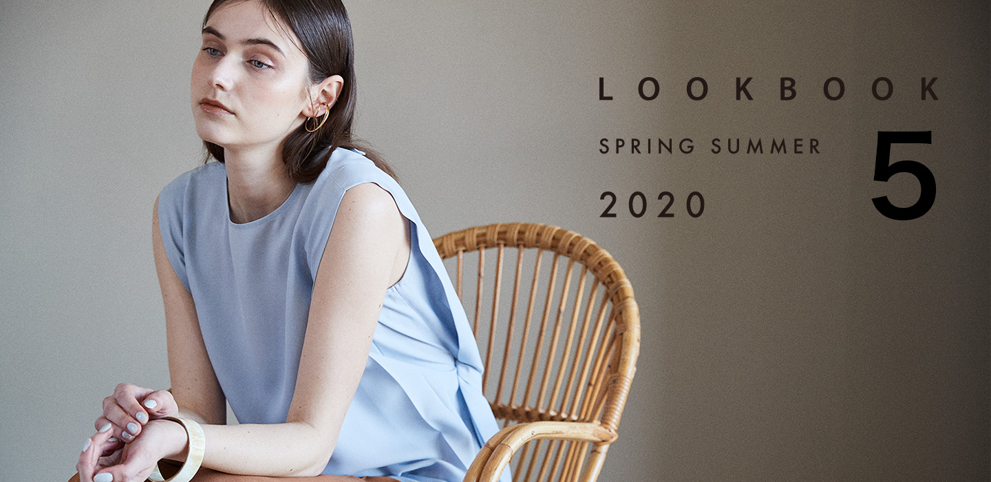 2020 SPING 1st COLLECTION [LOOK BOOK SPRING SUMMER 2020 5]