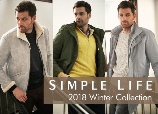 【シンプルライフ(メンズ)】2018 Winter Collection