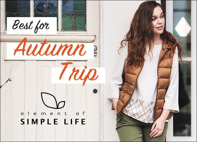 【エレメントオブシンプルライフ(レディス)】Best for Autumn Trip