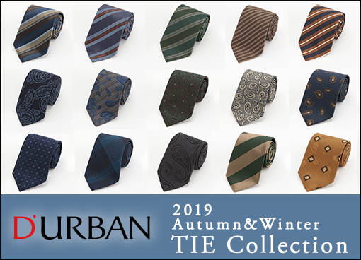 【ダーバン】TIE Collection & Styling