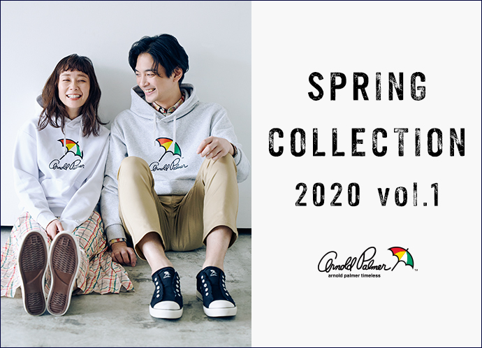【arnold palmer timeless】SPRING COLLECTION 2020 vol.1