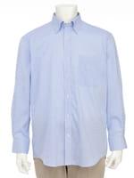 【オーパス】ブルードビースナップダウンドレスシャツ