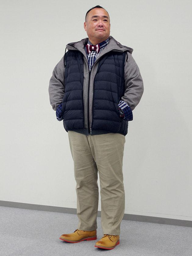 【紳士大きいサイズ】【ダーバンオーパス】CORDURAフリース前開きパーカー