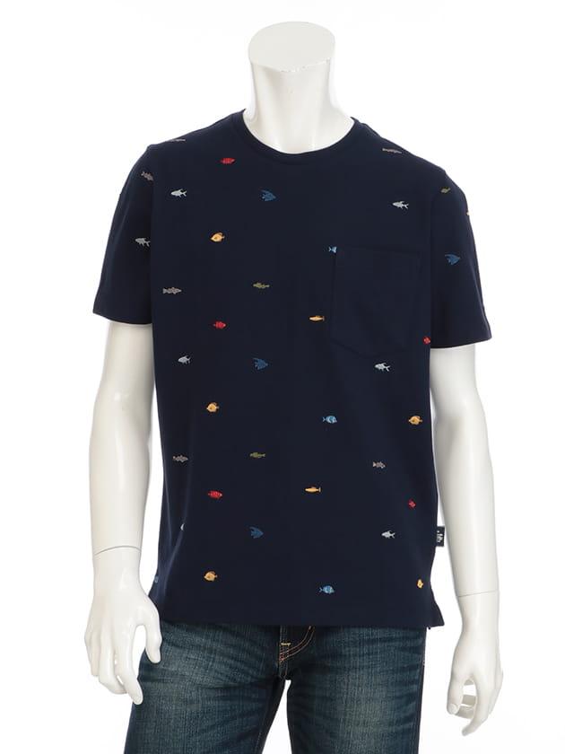 飛び刺繍Tシャツ