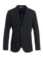 【セットアップ】【イタリア生地使用】デニムライクジャケット