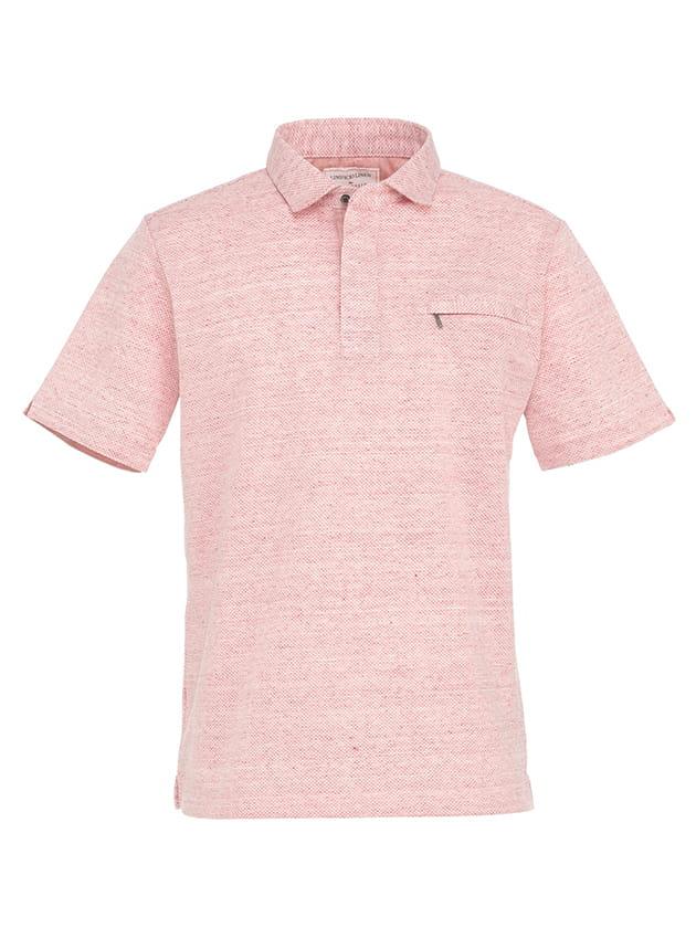 【日本製】リネンポロシャツ