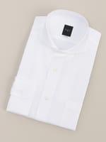 【BGR Slim-fit】ホリゾンタルカラー ホワイトドビードレスシャツ