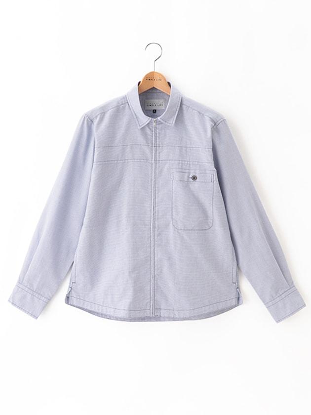 【キシリトール加工】ライトカラーシャツアウター