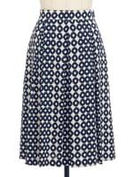 【セットアップ】幾何学模様スカート