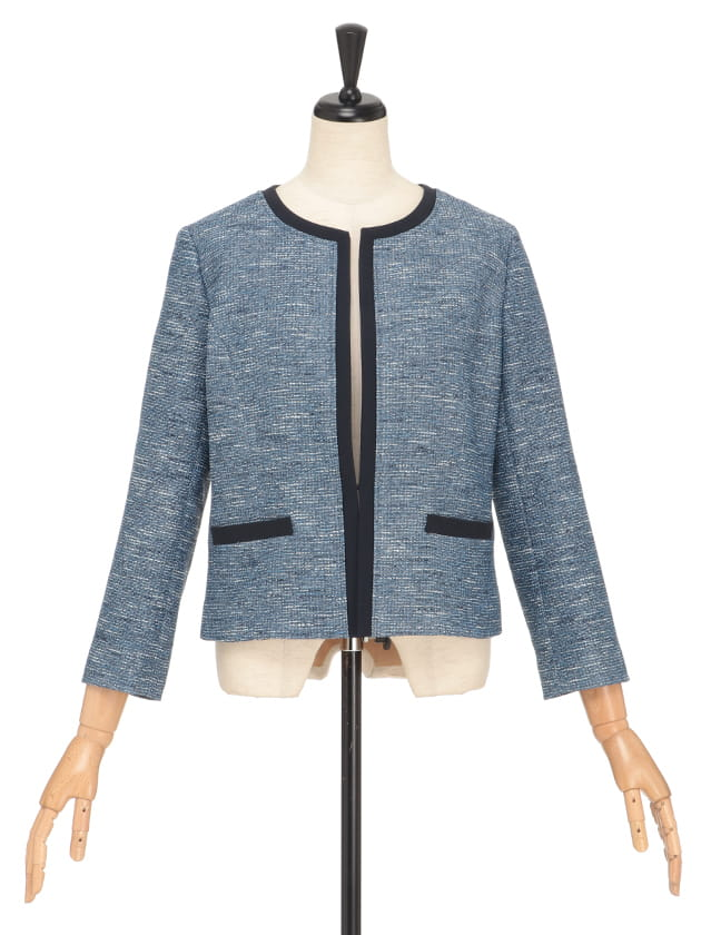 カラミ織りジャケット