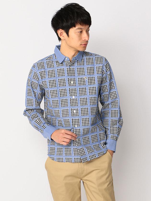 ダンガリーチェックシャツ(Men's)