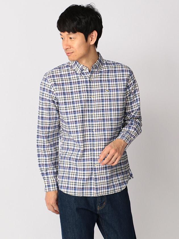 マルチトラッドチェックオックスシャツ