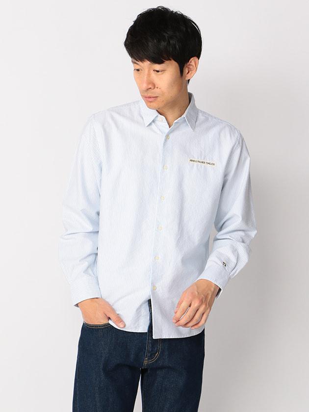 【WEB・一部店舗限定】ストライプオックスシャツ(Men's)