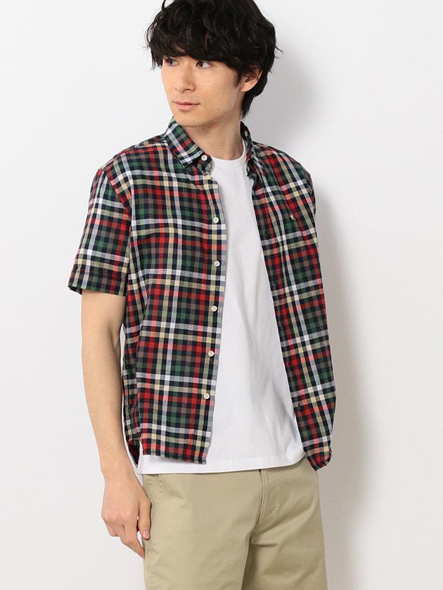 【WEB・一部店舗限定】コットンリネンハウスチェックシャツ