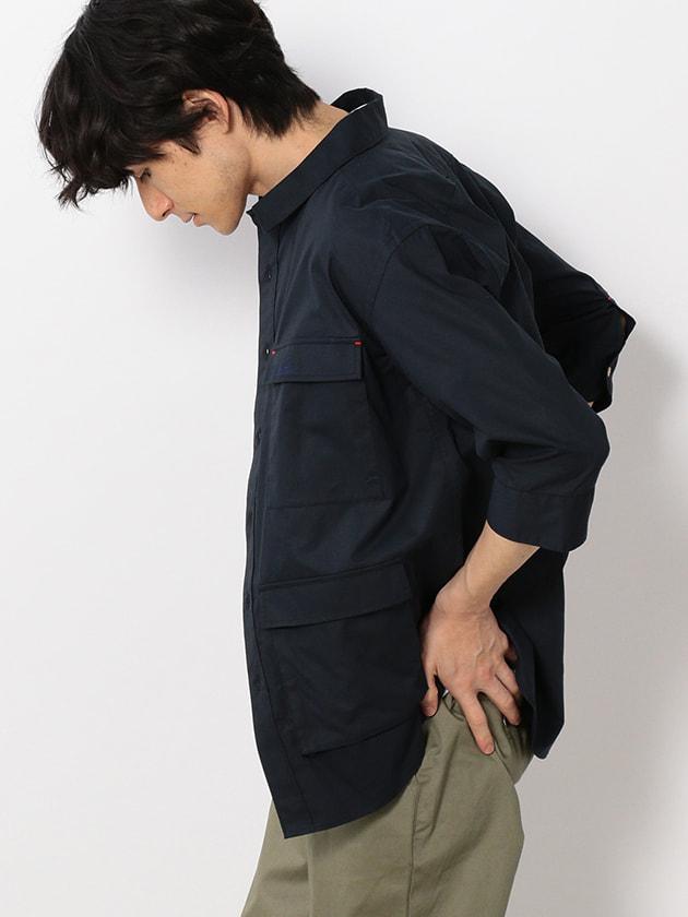 【WEB・一部店舗限定】7分袖4ポケットワークシャツ(Men's)
