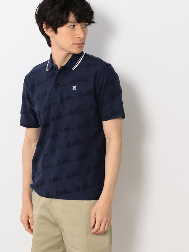 パイルロゴジャカードポロシャツ(Men's)