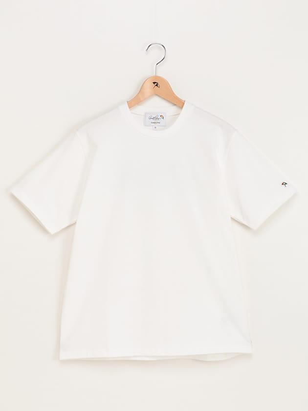 【店舗限定】バックロゴカラーブロッキングTシャツ(Men's)