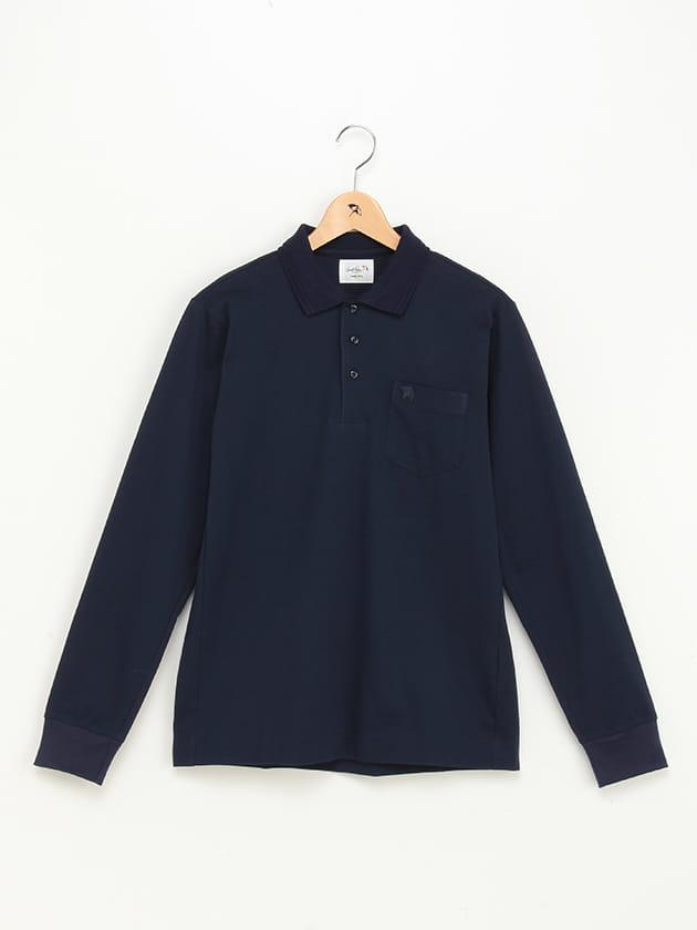 【WEB限定】ジャパンメイド長袖ポロシャツ