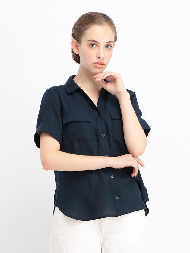 ダブルポケット半袖シャツ