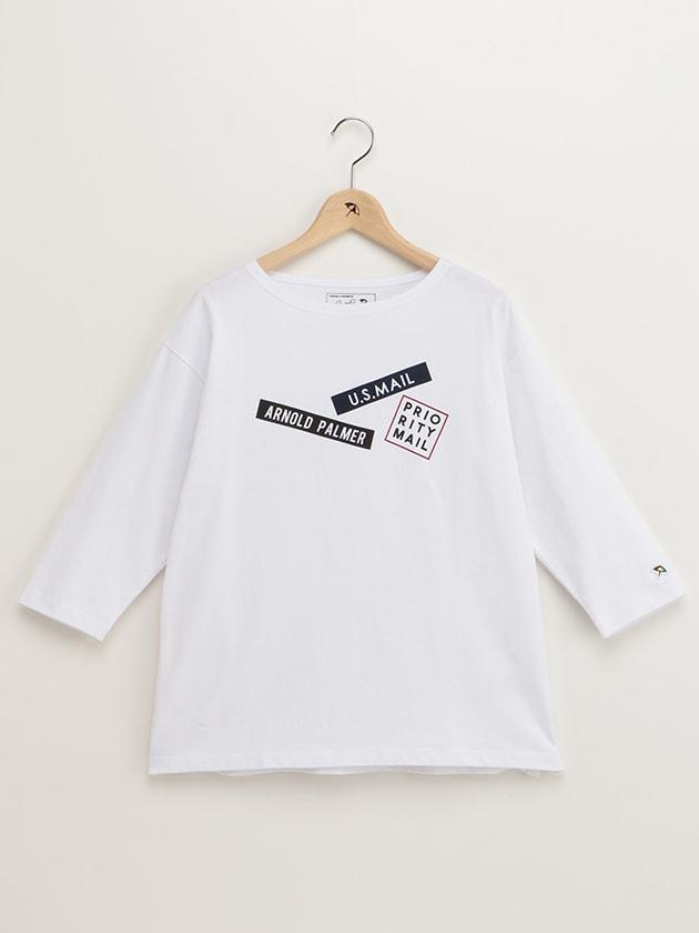 ステッカープリントTシャツ