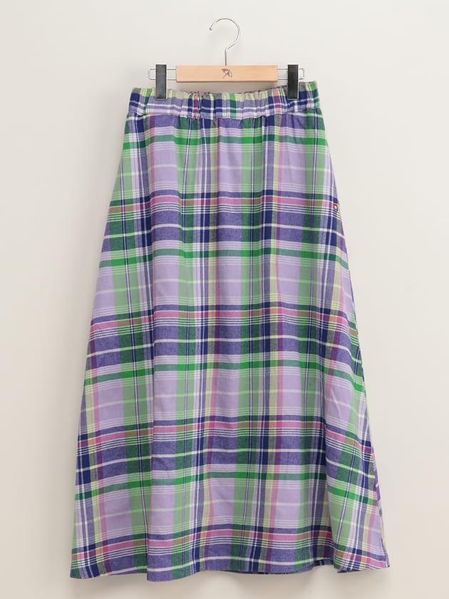 ウィンターマドラスチェック柄スカート