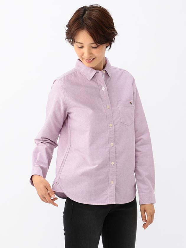 ベーシックオックスフォードシャツ(Ladies')