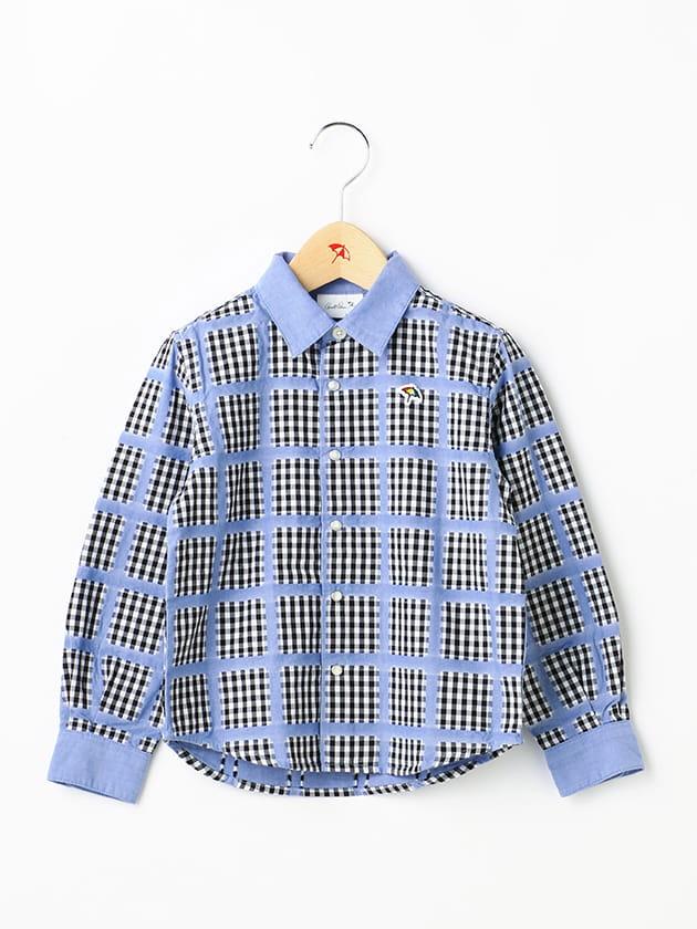 ダンガリーチェックシャツ(Kid's)