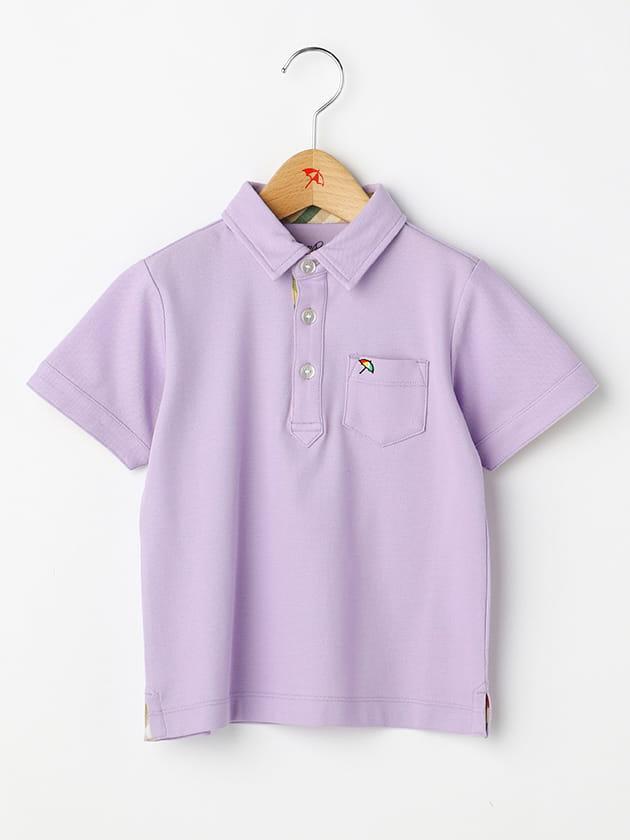 ハウスチェック使い鹿の子ポロシャツ(Kid's)