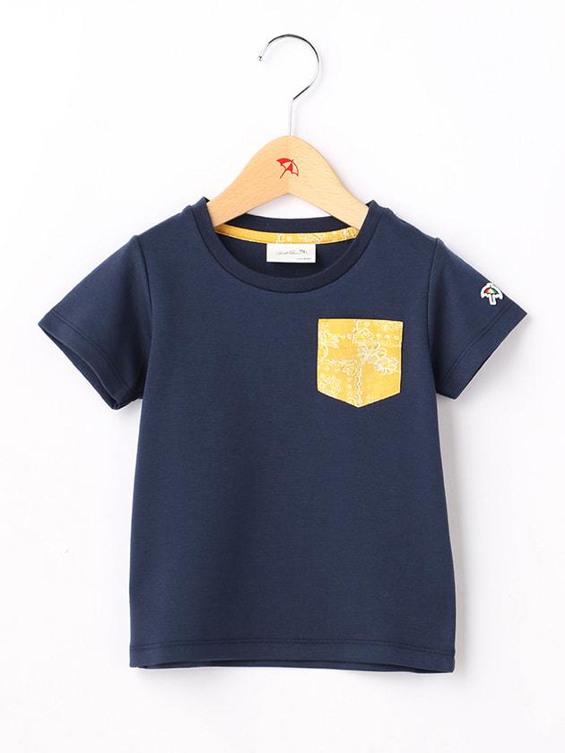 ライトポンチペイズリーポケットTシャツ(Kid's)