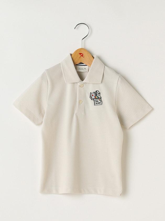 カメラ刺繍ポロシャツ(Kid's)
