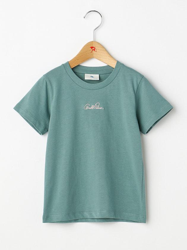 【シェアルック】【WEB・一部店舗限定】ロゴ刺繍カラバリT(Kid's)