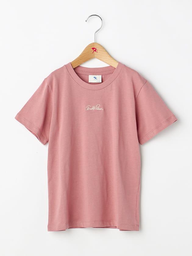 【シェアルック】【WEB・一部店舗限定】ロゴ刺繍カラバリT(Junior)