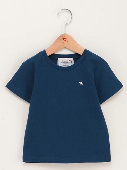 【親子お揃い】バックヨーク傘プリントTシャツ(Kid's)