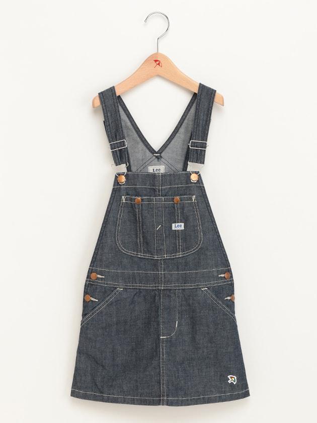 【Lee   arnold palmer timelessコラボ】デニムジャンパースカート