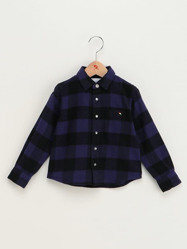 【親子お揃い】バッファローチェックシャツ(KID'S)
