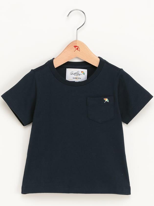 キッズベーシッククルーネックTシャツ