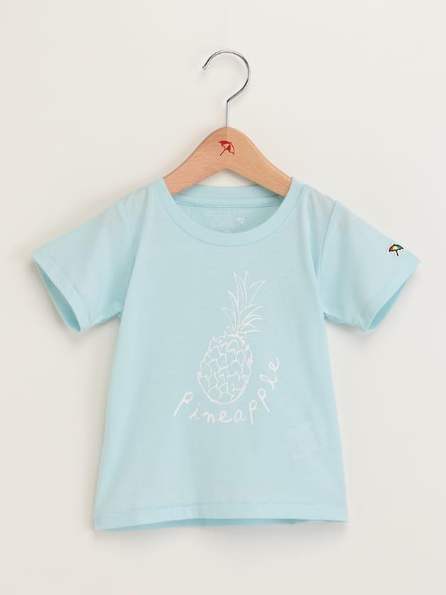キッズフルーツモチーフプリントTシャツ
