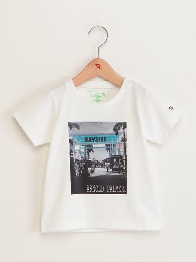 キッズフォトプリントTシャツ