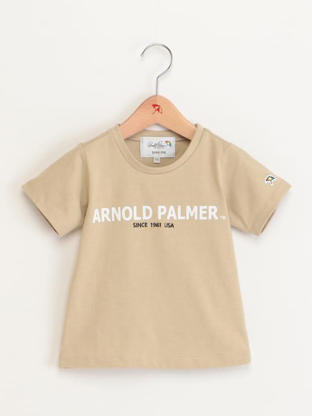 キッズロゴ刺繍 プリントTシャツ