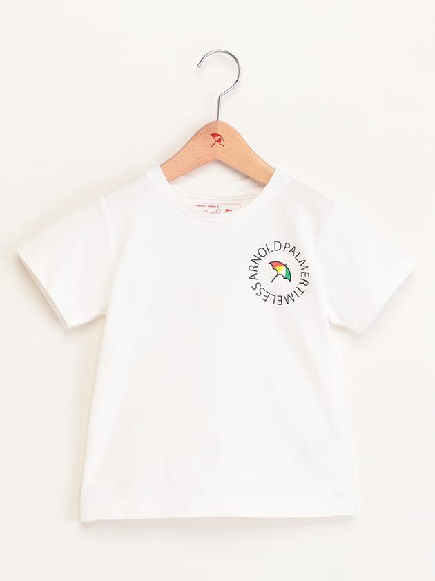 【WEB・一部店舗限定】キッズサークルロゴプリントTシャツ