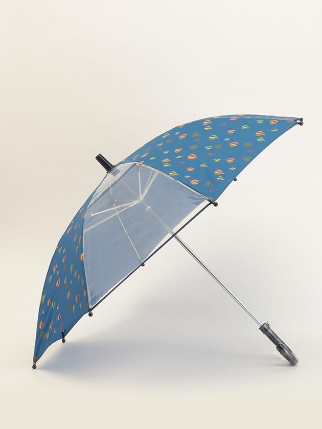 キッズカラー使い気球モチーフ傘