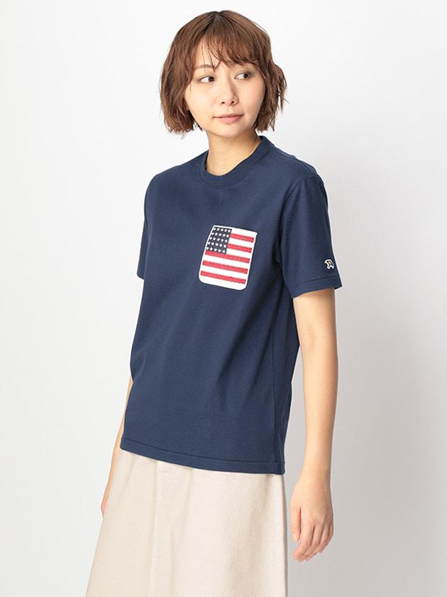 【シェアルック】ポケットモチーフTシャツ