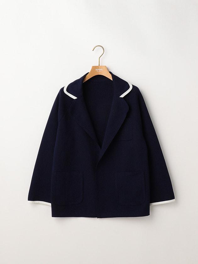 【セットアップ】ニットテーラードジャケット