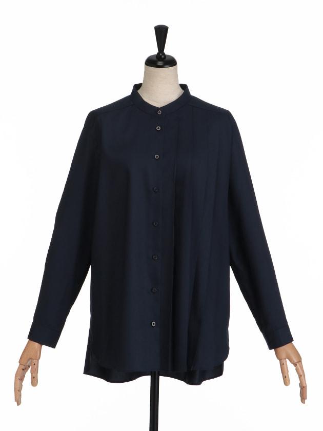 アシメプリーツシャツ