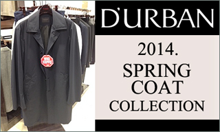 D'URBAN 2014 Spring Coat Collection
