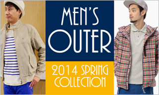 2014 Spring Mens'Outer Collection