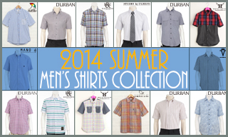 2014 Men's Summer Shirts Collection