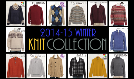 2014-15 Men's Knit Collection