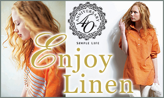 【SIMPLE LIFE】Enjoy Linen